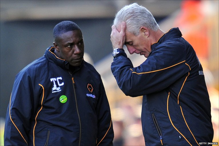 Mick McCarthy (right) and Terry Connor