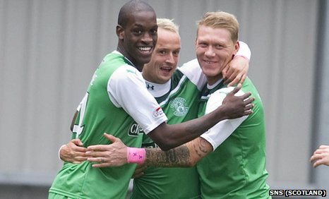 Isaiah Osbourne, Leigh Griffiths, Gary O'Connor