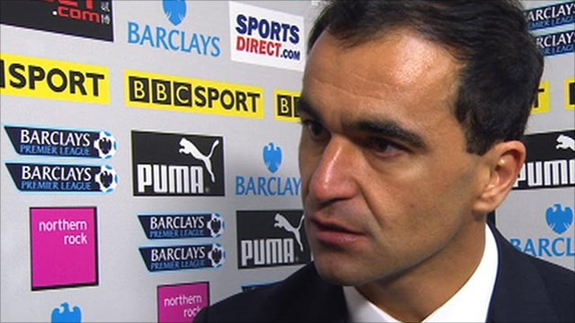Wigan boss Roberto Martinez