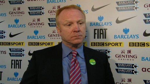 McLeish rues red card