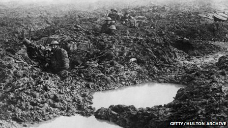 The mud at Passchendaele Photo by William Rider-Rider/Getty Images