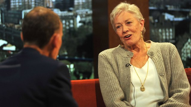 Vanessa Redgrave on The Andrew Marr Show