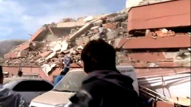 Aftermath of quake in Turkey