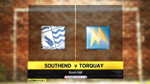 Highlights - Southend v Torquay