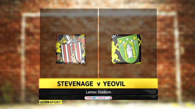Stevenage 0-0 Yeovil