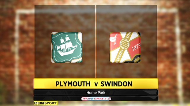 Plymouth v Swindon