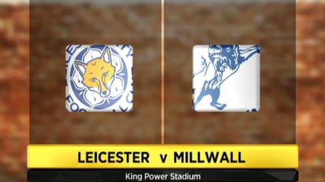 Leicester 0-3 Millwall