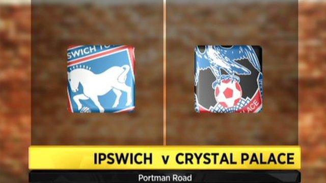 Ipswich 0-1 Crystal Palace