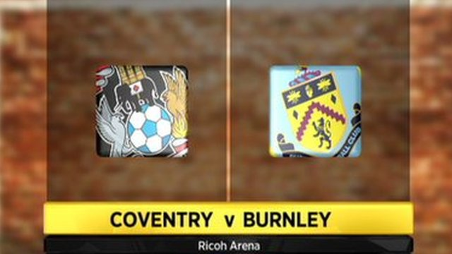 Coventry 1-2 Burnley