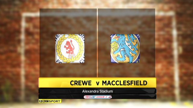 Crewe 0-1 Macclesfield