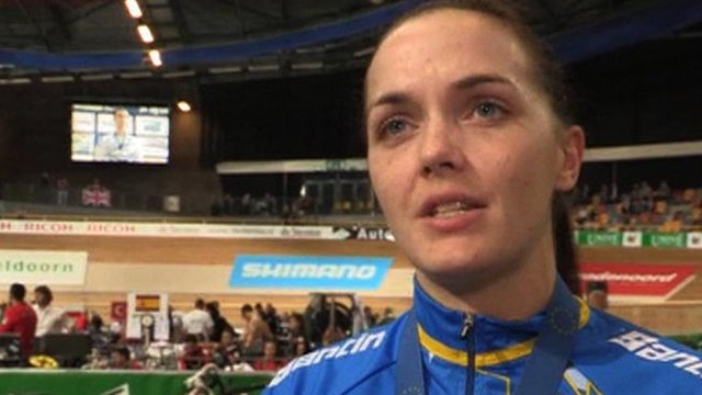 British cyclist Victoria Pendleton