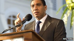 Andrew Holness makes his inaugural speech