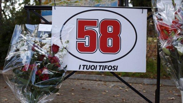Tributes to Marco Simoncelli