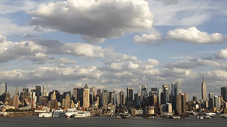 Manhattan skyline, October 2011