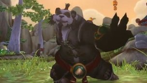 Screengrab of Pandaren monk
