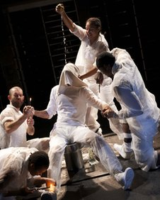 Scene from Marat/Sade (courtesy RSC)