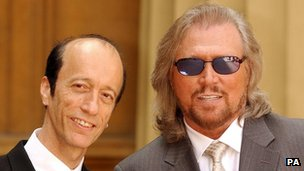 Robin and Barry Gibb