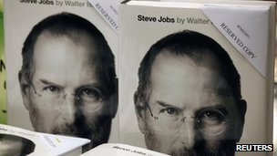 Covers of Steve Jobs biography