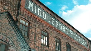Middleport Pottery building