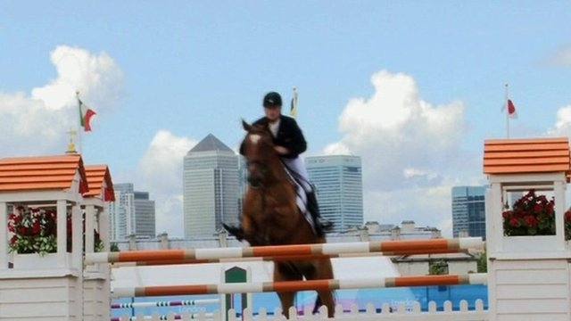 Olympic equestrian test event at Greenwich Park