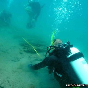 The expedition hopes to find the remains of Sir Francis Drake