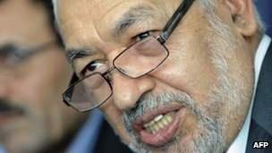 Rachid Ghannouchi, September 2011