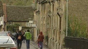A street in Lacock