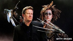 Matthew Bourne and Edward Scissorhands