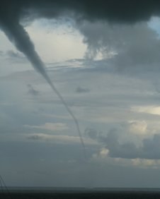 Water spout from Bexhill Sailing Club
