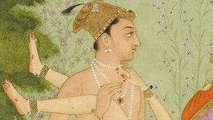 The private pleasure of Prince Muhammad Shah, late 17th Century India © Fitzwilliam Museum, Cambridge