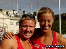 Lucy Boulton (L) and Denise Johns (R)