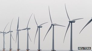 Offshore wind farm in Kent