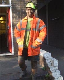 Miner Nick Gawthorpe