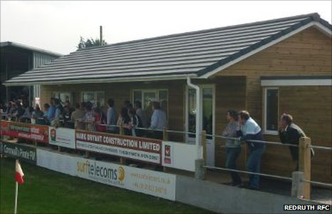 Redruth's hospitality suite