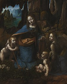 The Virgin Of The Rocks © The National Gallery, London