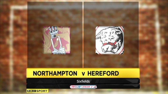 Northampton 1-3 Hereford