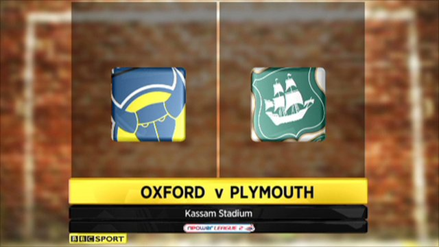Oxford 5-1 Plymouth