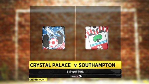 Crystal Palace 2-0 Southampton