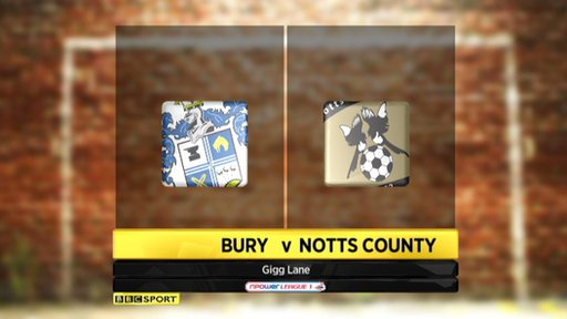 Bury 2-2 Notts County