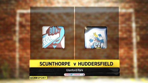 Scunthorpe 2-2 Huddersfield