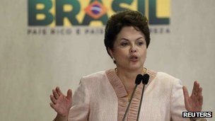 President Dilma Rousseff