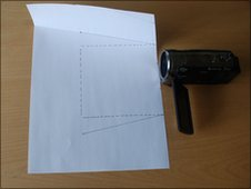 Camera and paper
