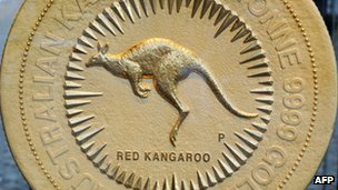 The new Australian gold coin - the world's largest at 1,000kg - 27 October 2011