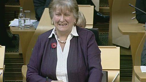 Scottish Conservative Leader Annabel Goldie