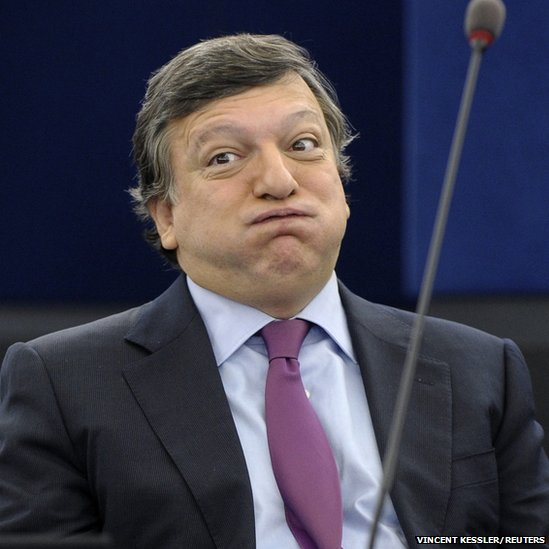 European Commission President Jose Manuel Barroso attends a debate on the results of the euro zone Brussels' summit at the European Parliament in Strasbourg