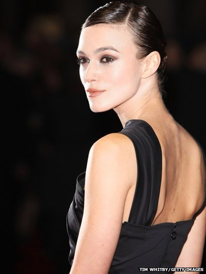 Actress Keira Knightly attends the press Premiere of A Dangerous Method at the 55th BFI London Film Festival at Odeon West End