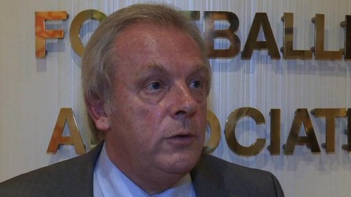 Gordon Taylor - President of the PFA