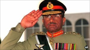 Former President of Pakistan Pervez Musharraf (file picture)