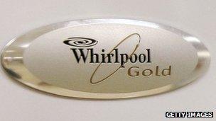 whirlpool fridge logo