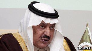 Prince Nayef bin Abdul Aziz al Saud